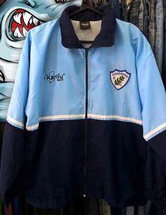 0e6cd53fd6 Agasalho   Jaqueta do Londrina Esporte Clube Usada Original Material  esportivo Karilu Sport Tamanho P mas