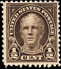 Find 1929 U. Nathan Hale in the Stamps (Postage Stamps) - United States - Unused category in Webstore online auctions Old Stamps, Rare Stamps, Vintage Stamps, Ghibli, Nathan Hale, Price Of Stamps, Stamp Values, Postage Stamp Art, Character