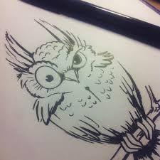 Картинки по запросу эскиз татуировки сова