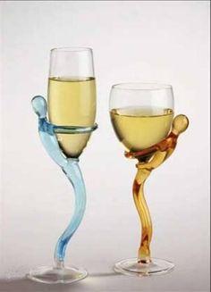 cool wine glasses!