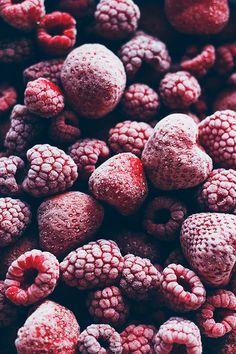Le Passe Vite: Chia-Mousse, Erdbeeren und Himbeeren mit Kokosmilch häuslich :: Chia, Erdbeere, Himbeere mit hausgemachten Pudding Kokosmilch