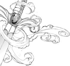 Sword by YamPuff.deviantart.com on @DeviantArt