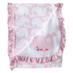 Just One You™Made by Carter's® Newborn Girls' Whale Blanket - Pink