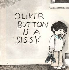 Inferring character feelings using Oliver Button is a Sissy