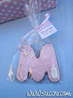Galletas Bautizo María Baby Girl Cookies, Cookies For Kids, Baby Shower Cookies, How To Make Cookies, Fondant Cookies, Fondant Icing, Cupcakes, Sugar Cake, Sugar Cookies