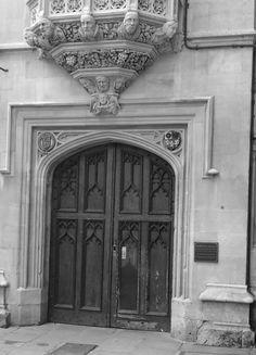 Door to Pembroke College Oxford