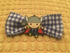 Thor hair bow clip  Avengers  Marvel  Disney