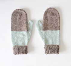 To know more about SarahMcNeil Mittens No. 12 gloves, visit Sumally, a social network that gathers together all the wanted things in the world! Featuring over 5 other SarahMcNeil items too! Knit Mittens, Knitting Socks, Mitten Gloves, Hand Knitting, Knitted Hats, Sheep Wool, Knitting Accessories, Wool Yarn, Knitting Projects