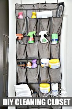Keep Cleaning Supplies Separate