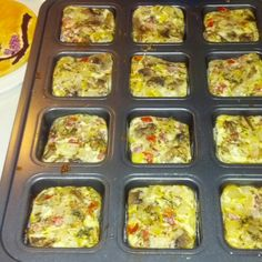 Individual egg white omelettes 25 calories. Uses three tablespoons of egg whites, pico de gallg, fresh chopped mushrooms, garlic, Rosemary, and thyme. Preheat oven to 350, using a pampered chef brownie pan spay each cup with Pam.put egg whites in first then veggies.cook 15 to 20 minutes. Yum