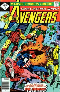 Avengers cover by Jack Kirby