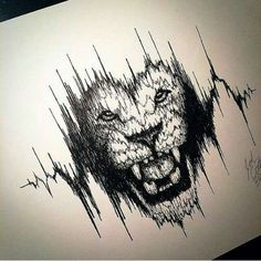 THIS with sound waves of my loves heartbeat, because I absolutely love laying on his chest listening to his heart. He's my lion🖤🦁 #Tattoosonneck