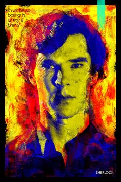 SHERLOCK by Jaydhrit Sur, via Behance