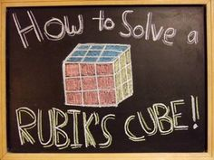 ▶ How to Solve a Rubik's Cube! - YouTube's most popular Rubik's tutorial. (hopefully that means it's a good one!)