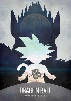 Dragon Ball Poster - Chris Minney