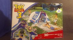 DISNEY/PIXAR TOY QUEST TOY STORY 3 3D INFINITY AND BEYOND WATER SLIDE NEW IN BOX #Disney