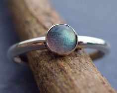 Very nice. Simple but gorgeous. That stone's color is also very nice!