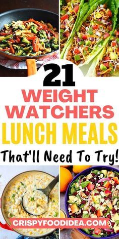 Weight Watchers Lunches, Weight Watchers Meal Plans, Weight Loss Meals, Healthy Recipes For Weight Loss, Healthy Weight, Lunch Meal Prep, Healthy Meal Prep, Lunch Meals, Fast Healthy Meals