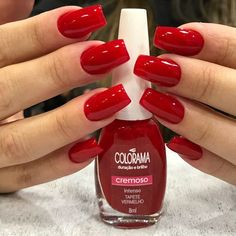 Popular Ideas for gel nails polish neon Cute Nails, Pretty Nails, French Gel, Neon Nail Polish, Christmas Manicure, Nail Decorations, Perfect Nails, Red Nails, Short Nails