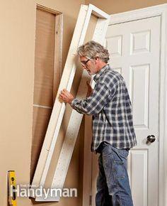organize tips for nails screws | Built-In Shelves | The Family Handyman