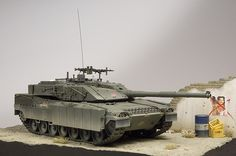 Italian MBT C1 Ariete