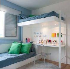 quarto pequeno para dois irmãos - Pesquisa Google