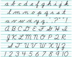 American cursive