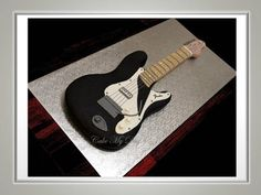 Guitar  Cake by Cake My Day