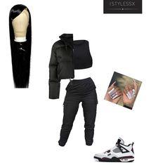Padded Jacket, Black Tops, Black Jeans, Shoe, Fitness, Womens Fashion, Instagram Posts, Pants, Jackets