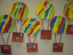 Ma classe maternelle - Ballons des anniversaires