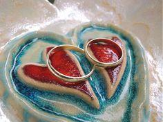 charis / srdiečko na obrúčky Heart Ring, Rings, Wedding, Jewelry, Valentines Day Weddings, Jewlery, Jewerly, Ring, Schmuck
