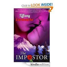 Author – Tiffany Carmouche  Book – The Impostor  FB Page - http://www.facebook.com/TiffanyCarmoucheAuthor  Website – http://www.tiffanycarmouche.com/#!the-silhouette--/c1mft  Amazon Link - http://www.amazon.com/Impostor-Story-Alaska-Trilogy-ebook/dp/B009KDVRSC  Video -