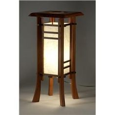 cherry street japanese style table lamp asian style lighting