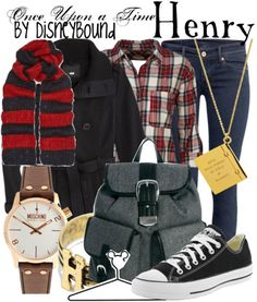 Once Upon a Time Henry style - Disney Bound Character Inspired Outfits, Disney Inspired Outfits, Themed Outfits, Disney Outfits, Disney Style, Disney Fashion, Disneybound Outfits, Fandom Fashion, Fandom Outfits