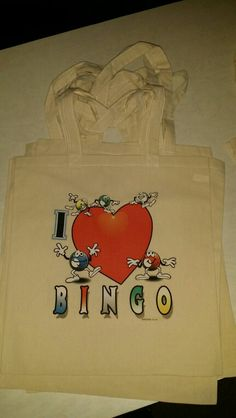 Bingo canvas tote bags $10 contact Ami 815-355-5521  email us your images or idea to uniquelypersonal2015@gmail.com