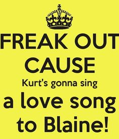 That was heart breaking and adorable at the same time. Only #Klaine can make me feel like that.
