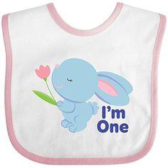 Inktastic Baby Boys' 1st Birthday Bunny Rabbit Baby Bib One Size White/Pink inktastic http://www.amazon.com/dp/B00MT7PRKA/ref=cm_sw_r_pi_dp_8EdDvb1T1TYH1