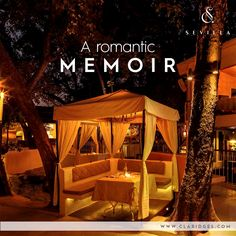 Enjoy a romantic evening with your significant other under the azure skies in our Mediterranean ambiance !  Book your candle light dinner today- http://goo.gl/ab9pJE