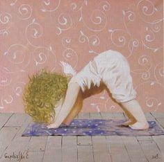Casinha da Sophia: Yoga para anjos - Eugenia Gapchinska