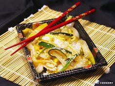 Teppanyaki-Style Zucchini