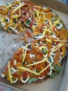 Yummy Raw Food Pizza!