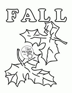 fall leaves coloring pages for kids seasons fall printables free wuppsycom