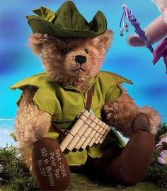 Peter Pan and Tinkerbell Hermann Teddy Limited Edition Teddybear | eBay