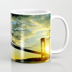 Buy New York Sunset Mug by haroulita!!. Worldwide shipping available at Society6.com. Just one of millions of high quality products available.