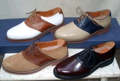 John Helmer Haberdasher - Saddle Shoes