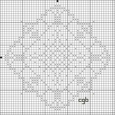 This free Cross Stitch pattern is protected by copyright laws. If someone wants a copy, please direct them to this URL - http://crossstitch.about.com/od/patternsfromyourguide/ig/One---Two-Color-Designs/Floral-Diamond-.htm