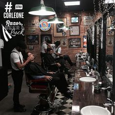 Preppin' the Shave at the Barber Shop