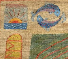 The Story Retold. Tapestry Weaving by Kirsten Glasbrook