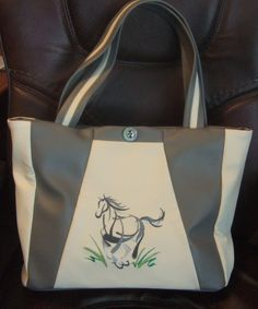 Love HORSES? Customize this OOAK HANDBAG in your choice of design & color!