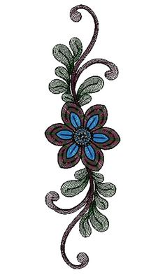 Patch Embroidery Design 13257